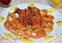 Calamari prajiti reteta