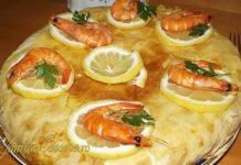 Pastilla placinta marocana cu creveti