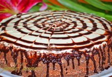 Tort de ciocolata si ananas