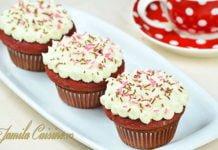 Red velvet cupcakes photo