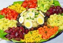 Salata marocana reteta