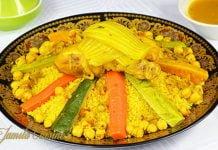 Couscous marocan cu pui