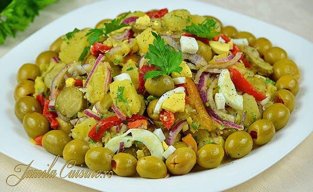 Salata orientala imagini
