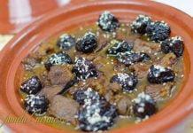 Tajine de miel cu prune uscate - video