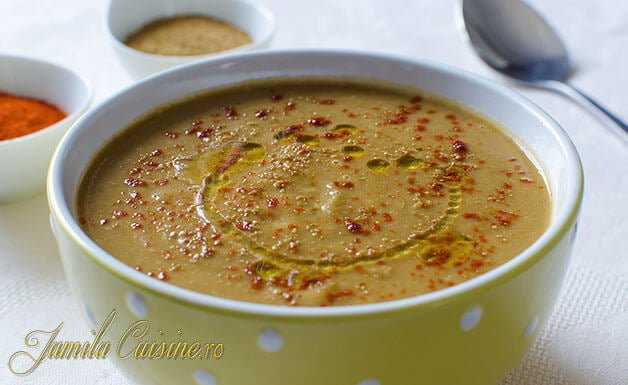 Supa de linte reteta marocana