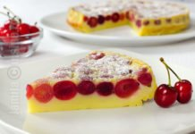 Clafoutis cu -cirese - video