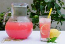 Limonada cu pepene rosu