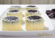 Mini cheesecake cu Oreo Reteta video