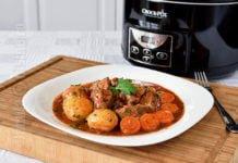 Gulas de vita gatit la slow cooker Crock Pot