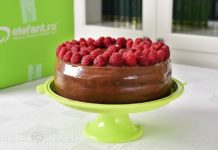 Tort de ciocolata cu zmeura - video