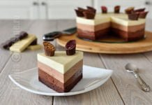 Tort trio de ciocolata | video