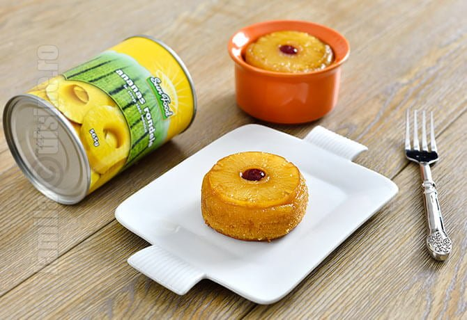 Mini prajituri cu ananas | reteta video