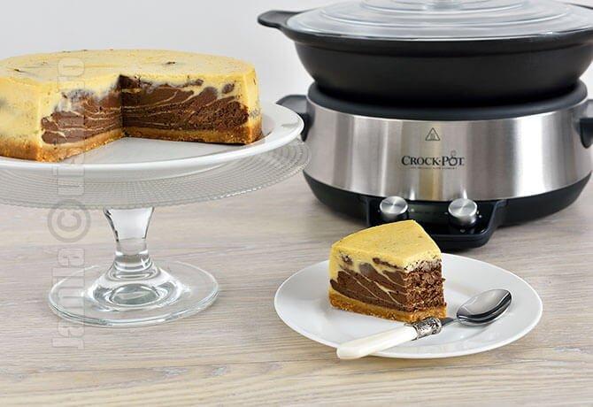 Cheesecake cu ciocolata facut la Crock-Pot