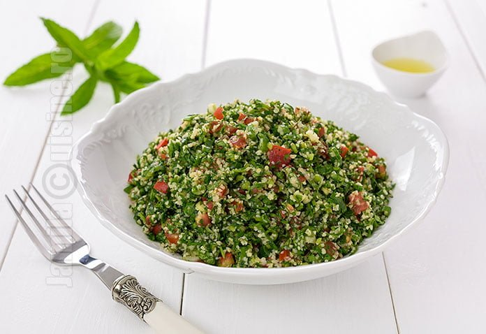 Salata tabbouleh - reteta video