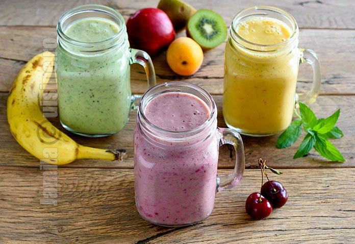 Smoothie de fructe - reteta video