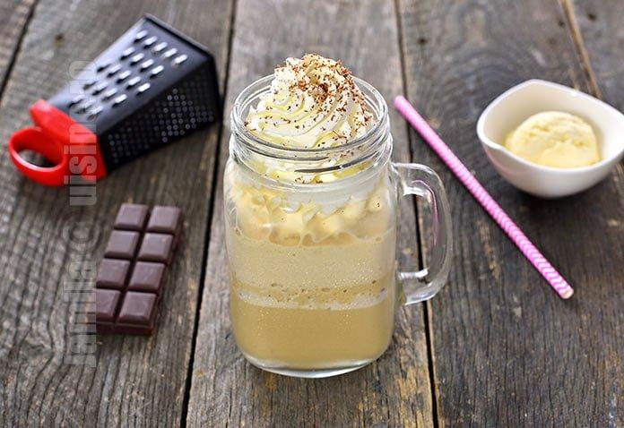 Frappe cu vanilie - reteta video