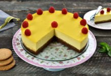 Cheesecake la cuptor