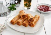 Briouates marocane cu pui