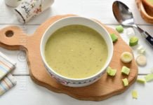 Supa de praz si cartofi