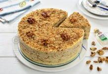 Tort egiptean cu nuci caramelizate