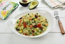 Salata mexicana cu orez