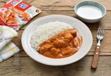 Butter chicken / Pui in stil indian
