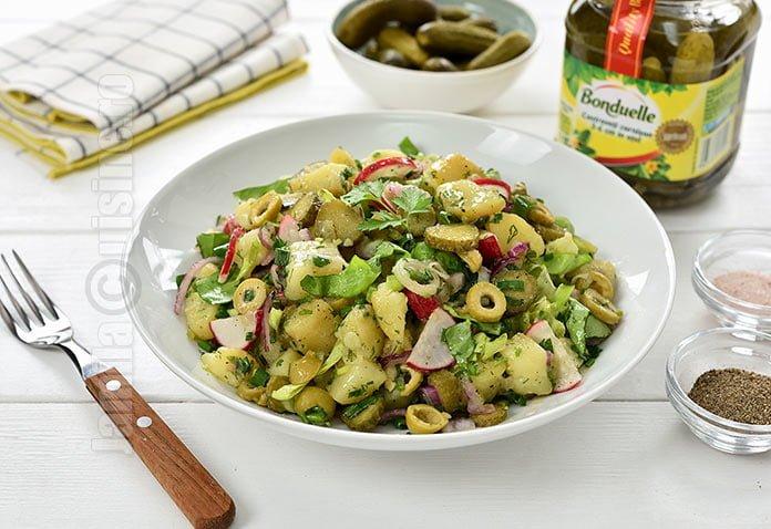 Salata orientala de primavara