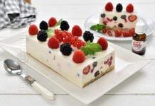 Prajitura fara coacere cu iaurt