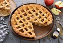 Placinta americana cu mere
