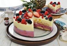 Tort Coseli cu fructe pentru Revelion