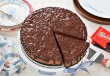 Tort fara coacere cu ciocolata