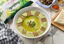 Hummus cu mazare