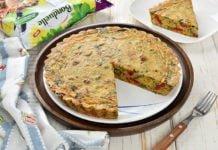 Clafoutis sarat / Tarta cu legume