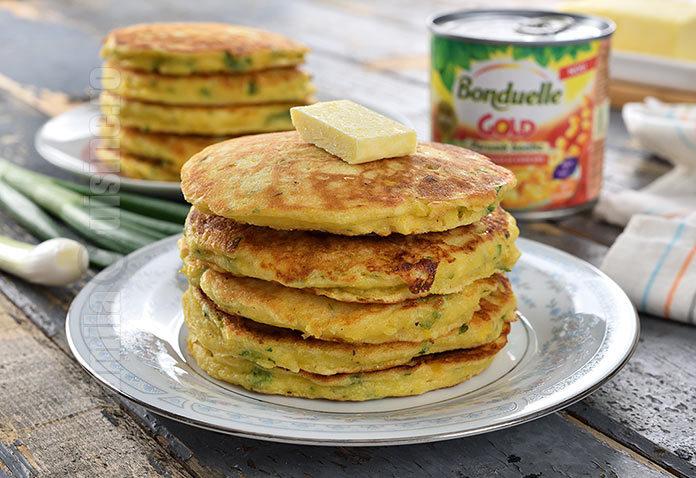 Pancakes cu porumb