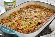 Mix de legume cremoase la cuptor