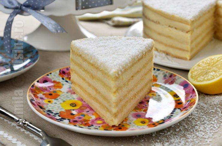 Tort Alba ca zapada, un desert al copilariei