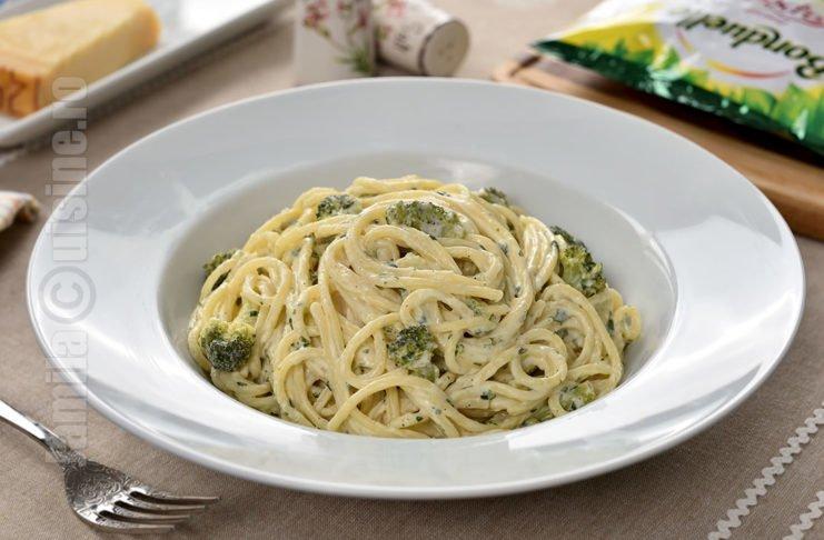 Paste cremoase cu broccoli