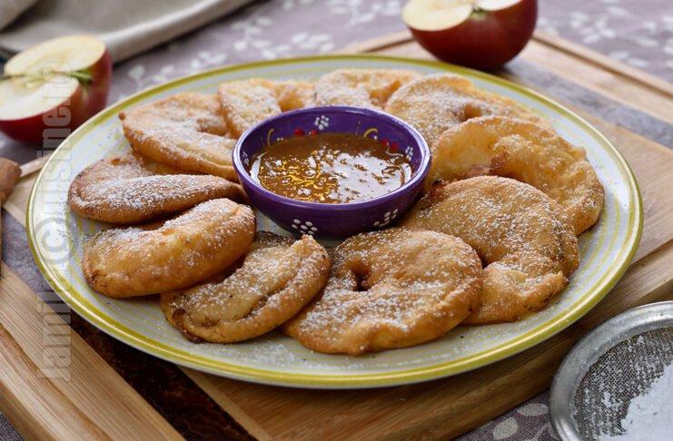 Mere in pijama / Gogosi cu mere