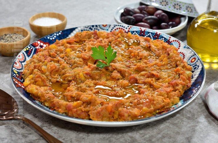 Zaalouk / Zacusca marocana